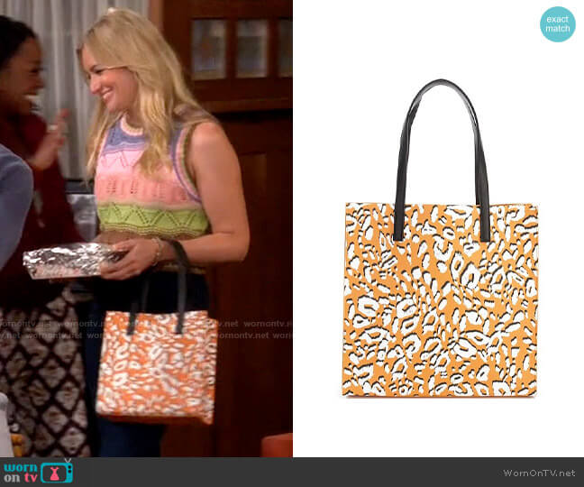 Ted Baker Lilocon Tote Bag worn by Gemma (Beth Behrs) on The Neighborhood
