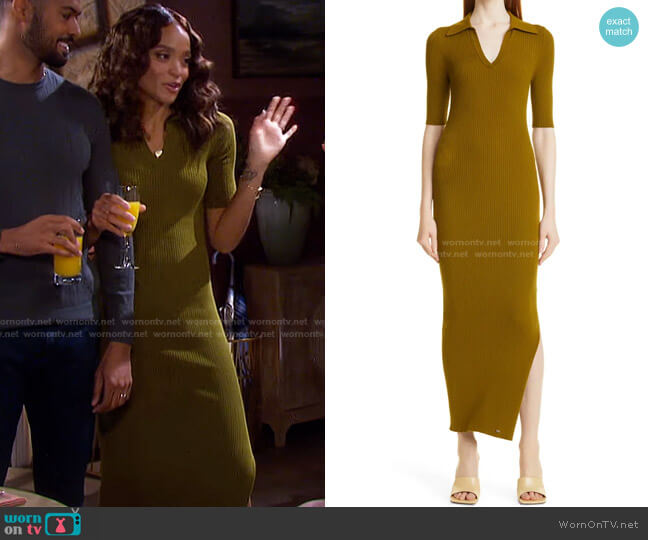 Pileepa Polo Midi Dress by Ted Baker worn by Lani Price (Sal Stowers) on Days of our Lives