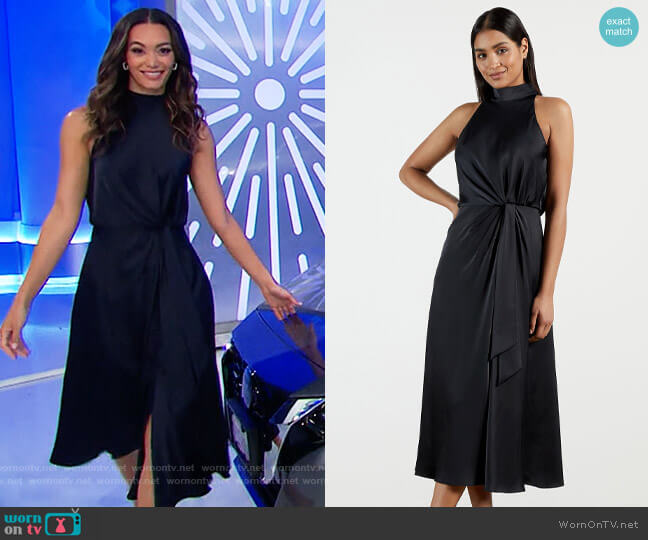 Ted Baker Lelly Dress worn by Alexis Gaube  on The Price is Right