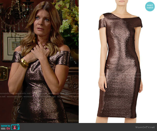 Ted Baker Maggz Dress worn by Phyllis Summers (Michelle Stafford) on The Young & the Restless