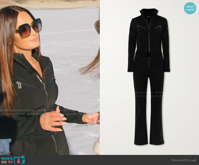 Lotta Belted Ski Suit by Toni Sailer worn by Lisa Barlow  on The Real Housewives of Salt Lake City