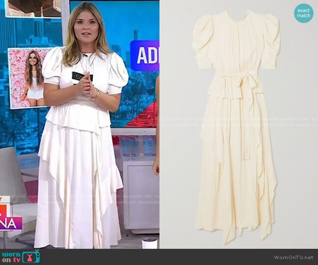 Lisbet Dress by Ulla Johnson worn by Jenna Bush Hager  on Today