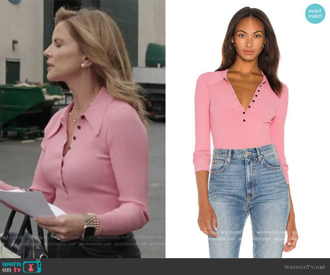 Lance Top A.L.C. worn by Natalie Morales on The Talk worn by Natalie Morales  on The Talk