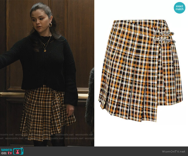 Midi Skirts by McQ Alexander McQueen worn by Mabel Mora (Selena Gomez) on Only Murders in the Building