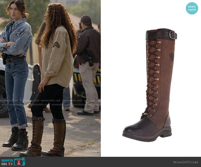 Ariat Berwick Gore-Tex Insulated Boot worn by Cassie Dewell (Kylie Bunbury) on Big Sky