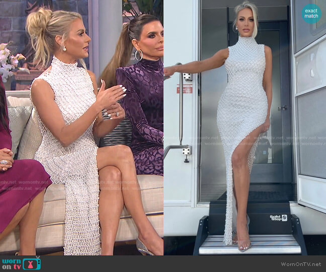 The Reunion Dress by Dorit x Nektaria worn by Dorit Kemsley  on The Real Housewives of Beverly Hills