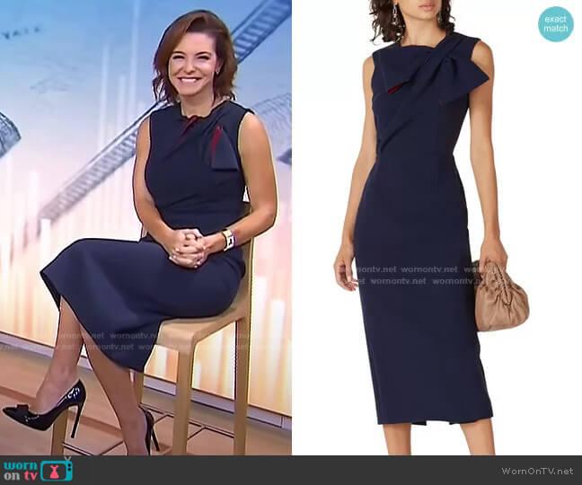 Flandre Dress by Roksanda worn by Stephanie Ruhl on Today