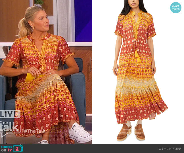 Rare Feeling Maxi Dress by Free People worn by Amanda Kloots  on The Talk