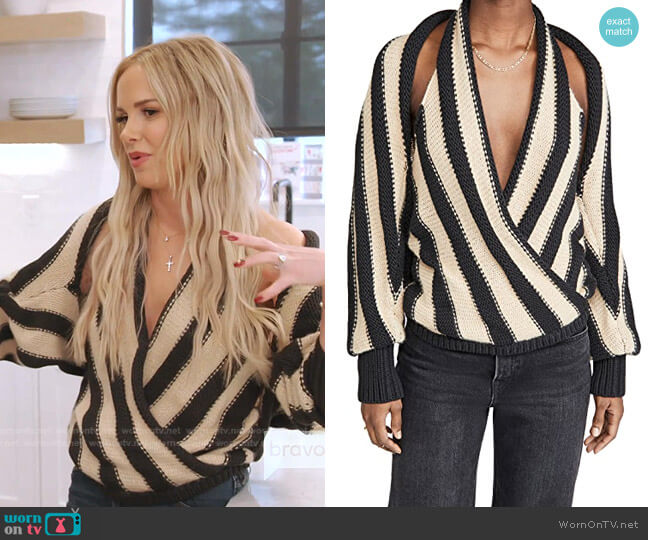 Martinez Sweater by Hellessy worn by Angie Harrington on RHOSLC