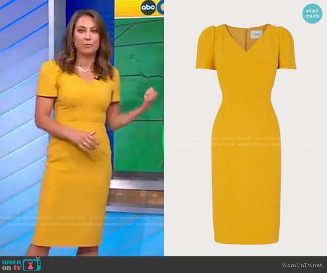 Rebecca Dress by L.K. Bennett worn by Ginger Zee  on Good Morning America