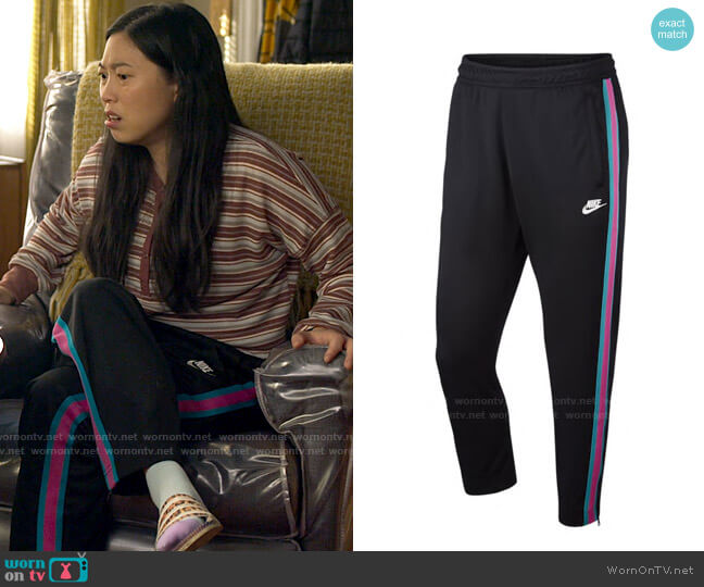 Nike Tribute Track Pants worn by Nora Lum (Awkwafina) on Awkwafina is Nora From Queens