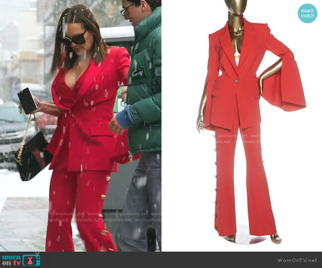 Suit by Prabal Gurung worn by Meredith Marks  on The Real Housewives of Salt Lake City