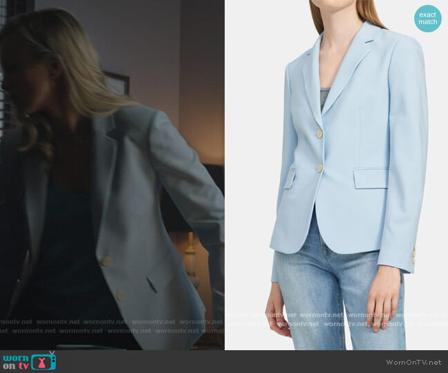 Carissa Blazer by Theory worn by Barbara Whitmore (Amy Smart) on Stargirl