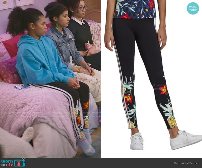 Her Studio London Tights by Adidas worn by Jessi Ramsey (Anais Lee) on The Baby-Sitters Club