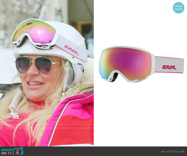 WM1 Goggles by Anon worn by Heather Gay  on The Real Housewives of Salt Lake City