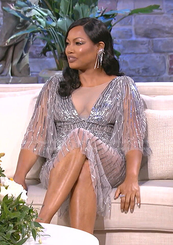 Lisa's purple leopard dress on The Real Housewives of Beverly Hills