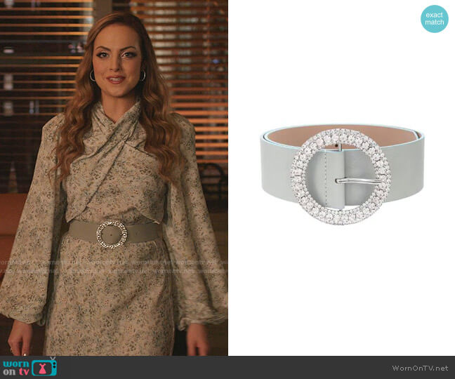Clara Leather Belt by B-Low The Belt worn by Fallon Carrington (Elizabeth Gillies) on Dynasty