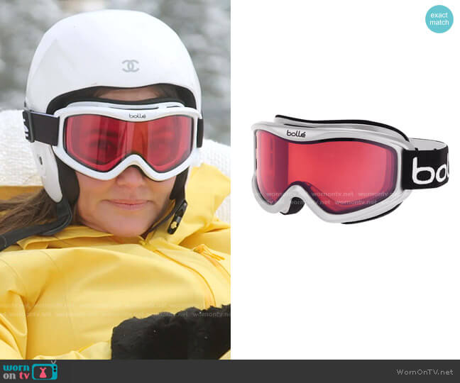 Mojo Shiny Goggles by Bollé worn by Meredith Marks  on The Real Housewives of Salt Lake City