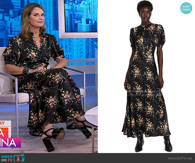 Tracy Dress by Brock Collection worn by Savannah Guthrie  on Today