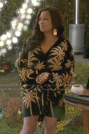 Erika's denim shirt on The Real Housewives of Beverly Hills