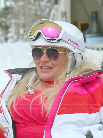 Heather's sunglasses and goggles on The Real Housewives of Salt Lake City
