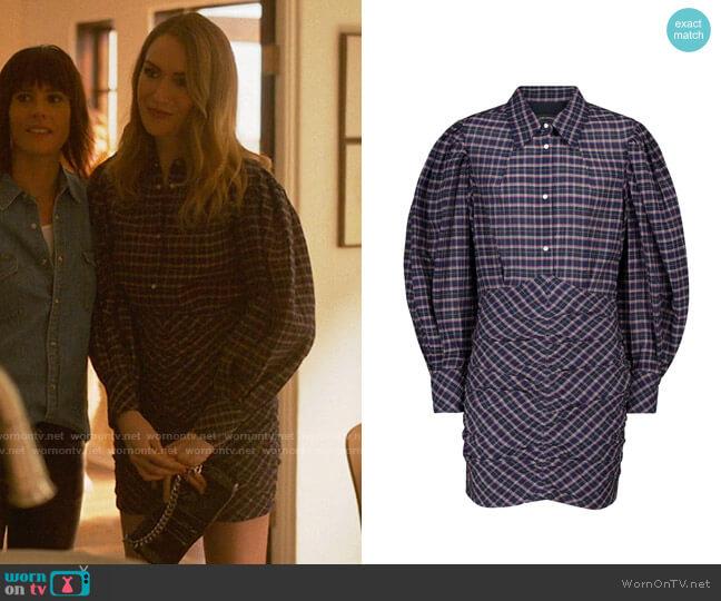 Isabel Marant Filanua Dress worn by Tess Van De Berg (Jamie Clayton) on The L Word Generation Q