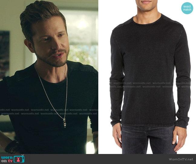 Long Sleeve T-Shirt by John Varvatos Star USA worn by Conrad Hawkins (Matt Czuchry) on The Resident