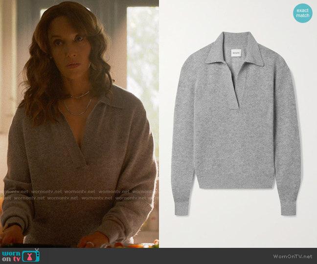 Khaite Jo Sweater worn by Bette Porter (Jennifer Beals) on The L Word Generation Q