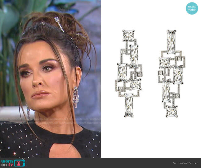 Custom made by Lark & Berry worn by Kyle Richards  on The Real Housewives of Beverly Hills