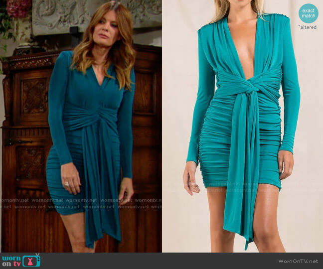 Misha Collection Paola Dress worn by Phyllis Summers (Michelle Stafford) on The Young & the Restless