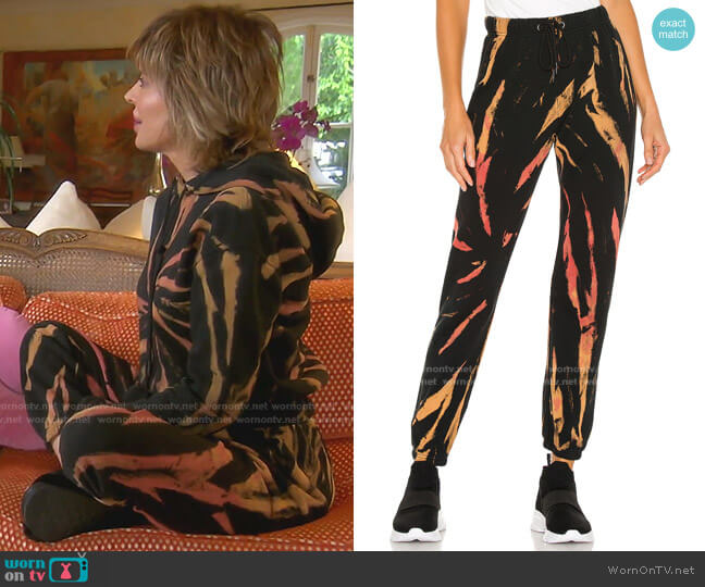 Gym Sweatpant by Pam & Gela worn by Lisa Rinna  on The Real Housewives of Beverly Hills