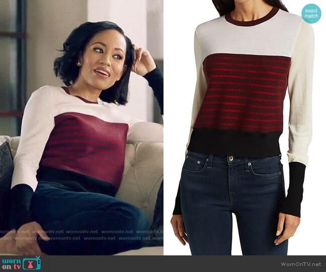 Rag & Bone Marissa Sweater worn by Charley Bordelon West (Dawn-Lyen Gardner) on Queen Sugar