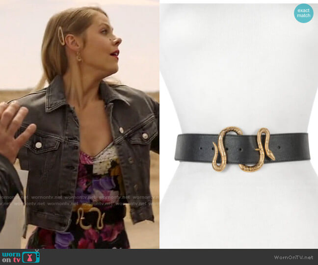 Raina Majove Snake Buckle Belt worn by Isobel Evans-Bracken (Lily Cowles) on Roswell New Mexico