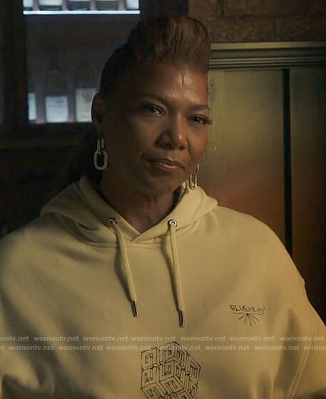 Robyn's Givenchy cube graphic hoodie on The Equalizer