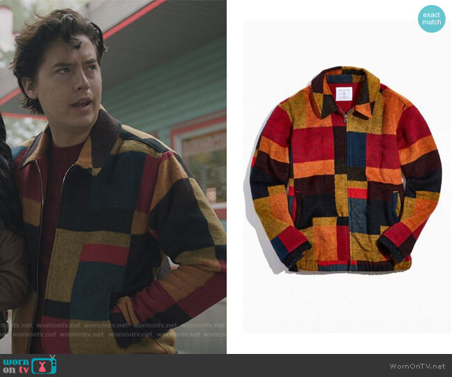 Harrinton Jacket by Urban Outfitters worn by Jughead Jones (Cole Sprouse) on Riverdale