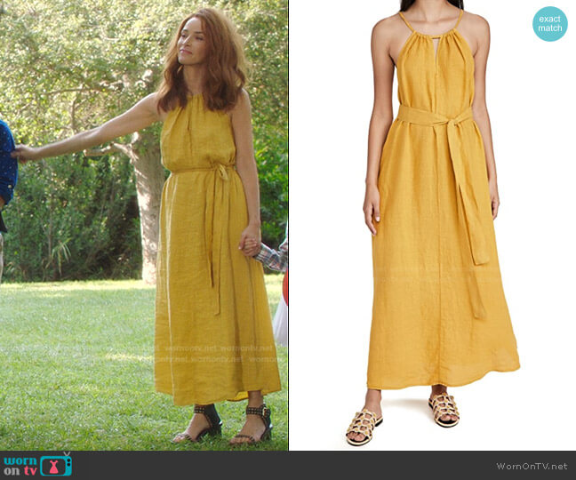 Celesta Dress by Velvet worn by Abigail Spencer on Greys Anatomy