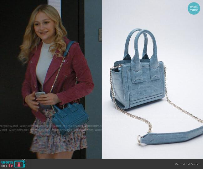 Zara Animal Print City Bag worn by Lexy Cross (Alyvia Alyn  Lind) on Chucky
